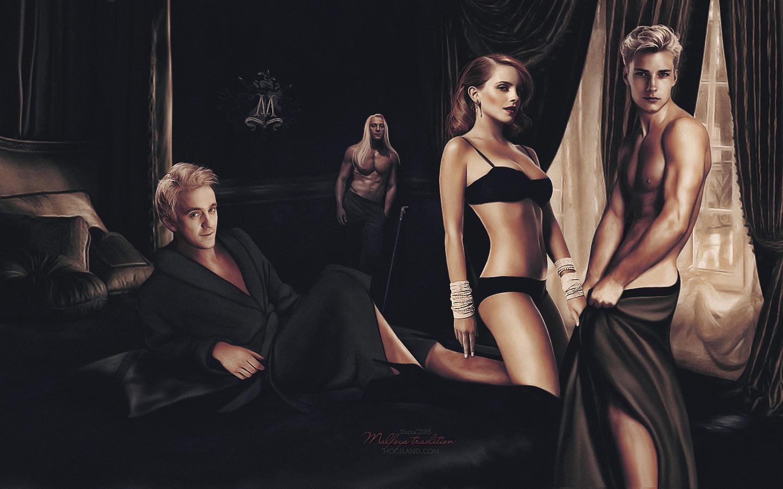 Секс люциуса малфоя
