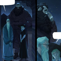 Арты «Harry potter comic pages»