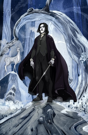 Арты «About Severus Snape» by Sally-Avernier